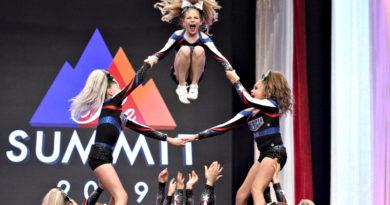 american cheer cheerleading gym at the summit 2019