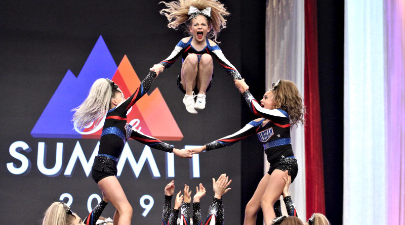 american cheer cheerleading gym at the summit 2019