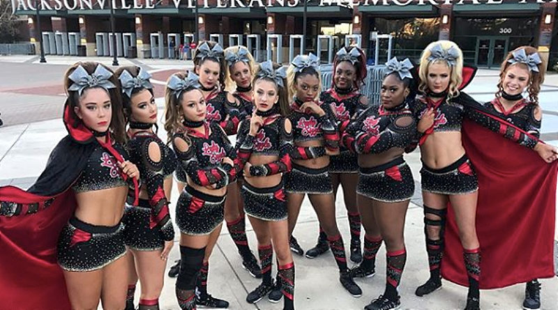RCA lady sizzle cheerleading themed routine