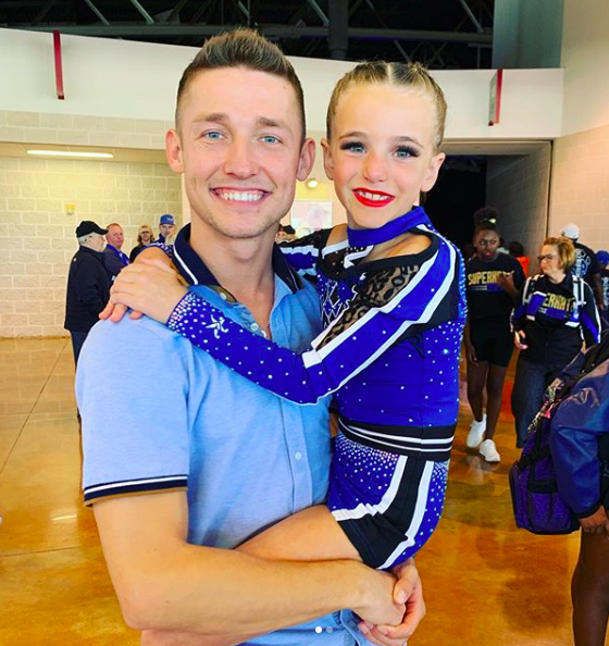 cheer athletics panthers coach John davenport knowles interview