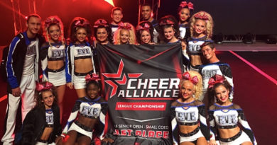 twist & shout allstars Adam and eve cheerleading uniforms fun fact
