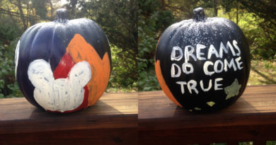 cheerleading halloween pumpkin ideas