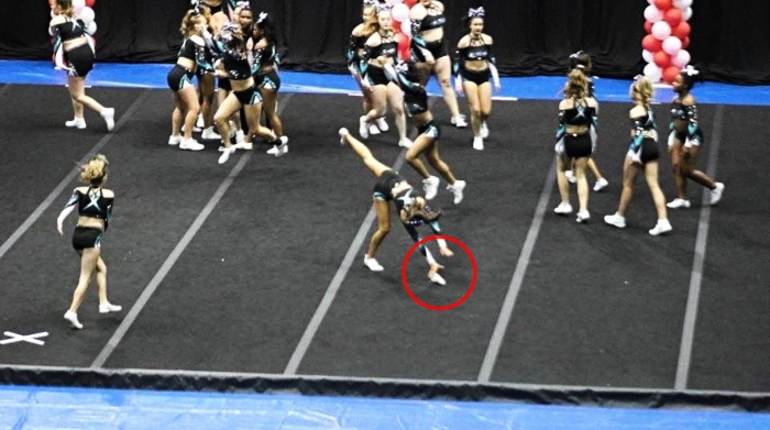 cheer extreme allstars spotlight viral drop of cheerleading shoe