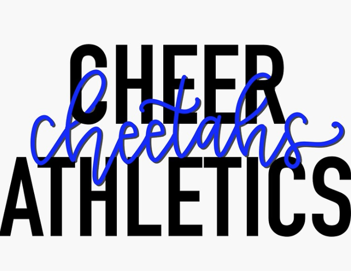 cheer athletics cheetahs cheerleading sticker