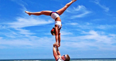 cheerleading strength training for stunting and tumbling
