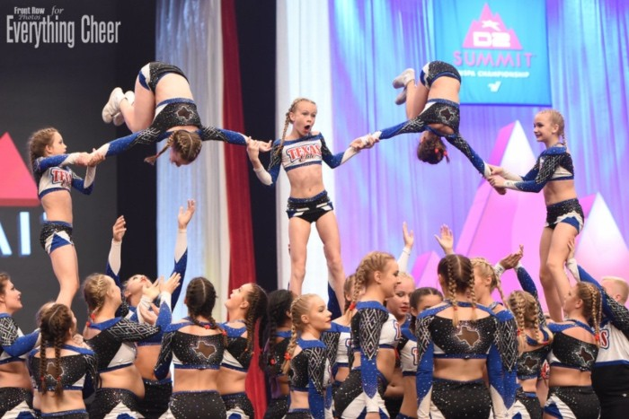 the d2 summit cheerleading competition what is the d2 summit article featuring Texas elite cheer