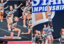 cheerleading NCA 2020 world cup shooting stars cheer athletics panthers and cheer extreme senior elite stingray allstars orange