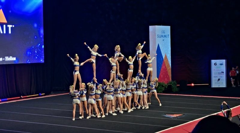 cheerleading competition the summit 2019 cheer central suns helios senior coed level 3 team