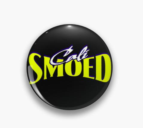the california allstars smoed cheerleading pin