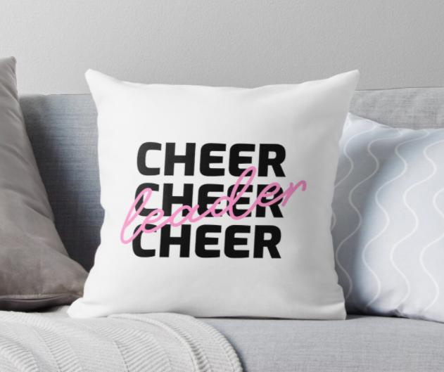 cheerleader pillow