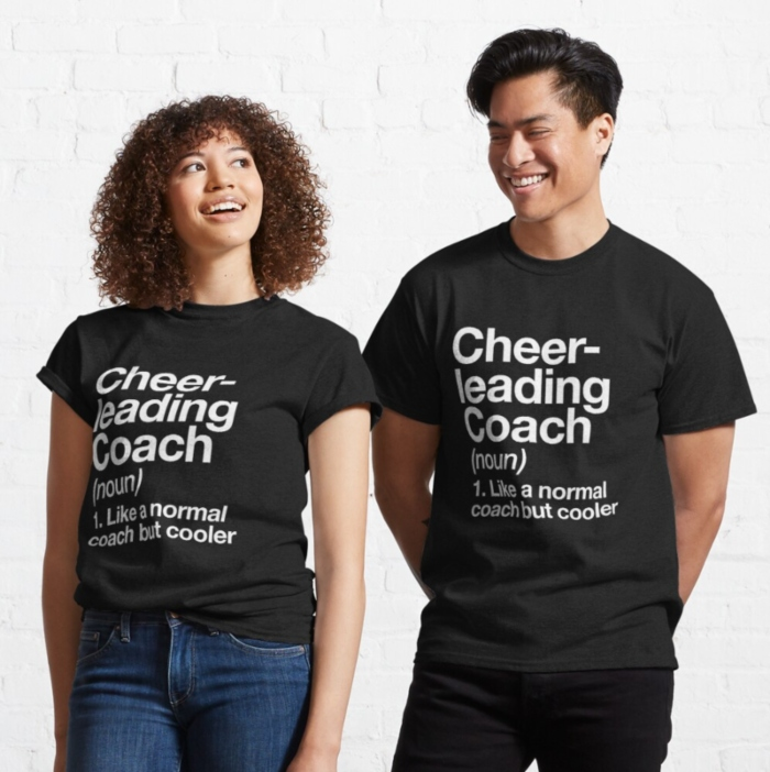 gift ideas for cheerleading coaches funny cheer coach shirt