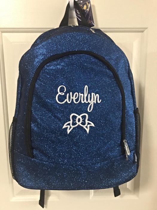 custom cheerleading backpack