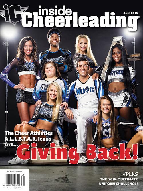 inside cheerleading magazine for cheerleaders