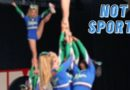 is cheerleading not a sport? words from a former cheerleader featuring photo of the stingray Allstars