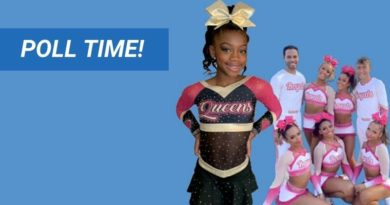 cheerleading pink uniforms poll with teams like cheer extreme lady lux top gun lady jags infinity allstars royals cheer savannah and more