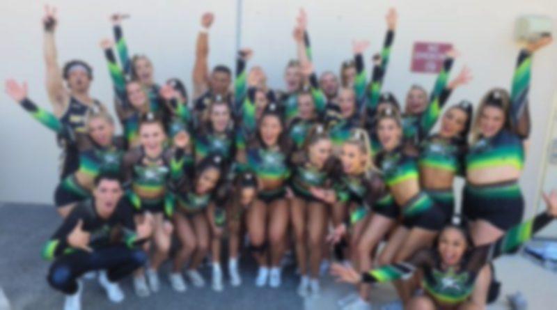 cheerleading 2020-2021 season cheerforce nfinity at cheerleading worlds 2021