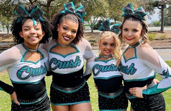 Brooklynn Lily from cheer extreme allstars crush, youth elite and C4