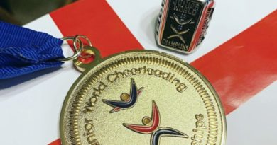 the ICU world championship for cheerleading in Orlando Florida featuring team England cheer