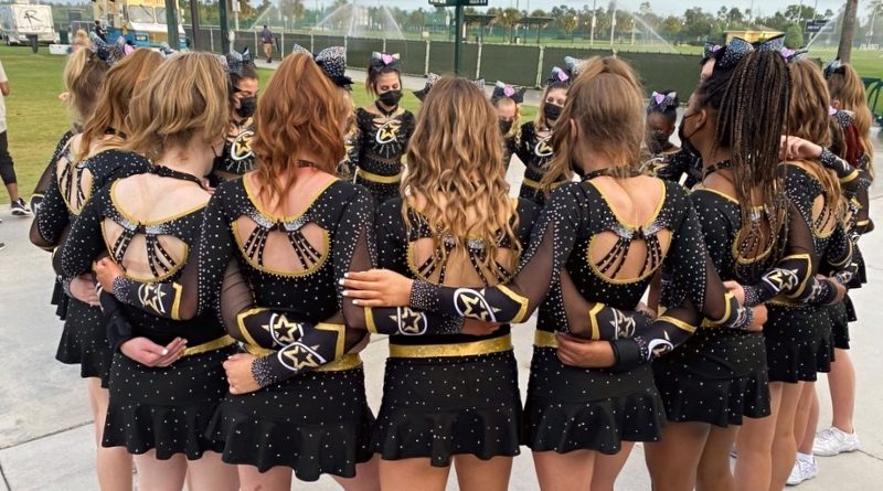 IASF cheerleading full top uniform rule featuring uniforms from champion cheer