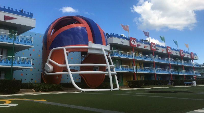 disney sports report football field in Orlando Florida